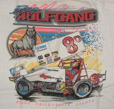 vintag tshirt, auto art, doug wolfgang, wolfgang 1989, 1989 tshirt