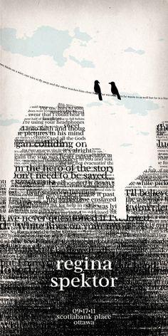 Regina - Typography Poster #webdesign #design #designer #inspiration #user #interface #ui #typography #posters #type #fonts