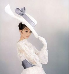 Audrey Hepburn - Costume by Cecil Beaton