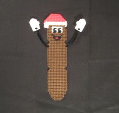 South Park: Mr. Hankey The Christmas Poo Bookmark: Howdy Ho! Made From Plastic Canvas by Robert
