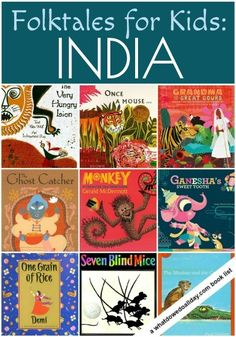 Week 4: Explore Indian folktales with these great picture books for kids.