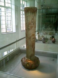 Glass vase at Ghent Design Museum, Belgium: http://www.europealacarte.co.uk/blog/2012/11/14/design-museum-ghent/