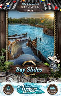 Walt Disney World Planning Pins: Bay Slides