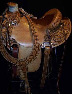 Saddle dreams. Three Forks Saddlery, Montana.