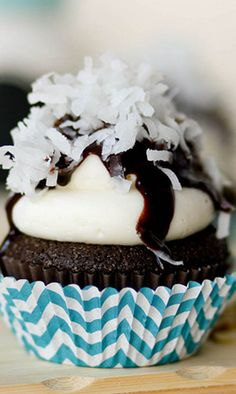 Almond Joy Cupcakes by Confessions of a Cookbook Queen