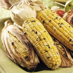 Grilled Corn on the Cob Recipe from Taste of Home