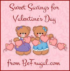 Sweet Savings for Valentine's Day - Life in a House of Testosterone