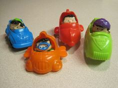 80's and 90's happy meal toys