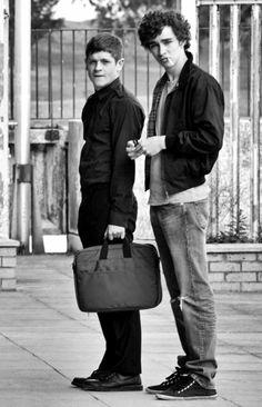 Misfits: Nathan and Simon :)