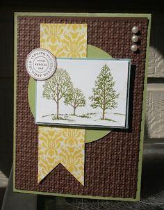 Lovely as a Tree card by Jo Hooper... (change sentiment)