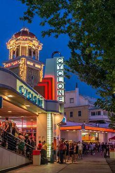 rollers, denver, colorado, amusement parks, roller coasters, amus park, place, evenings, lakesid amus