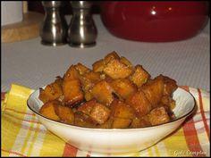 Glazed sweet potatoes in the crock pot