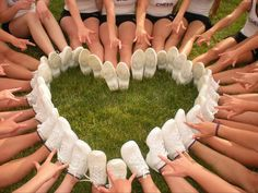You need special shoes for cheerleading - and a bit of a special soul as well.    Any man can hold a girl's hand, but only the elite can hold her feet. ~Author Unknown