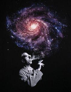 Just had a cosmic smoke