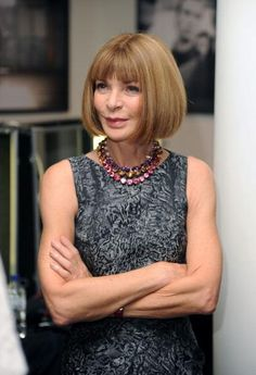 Anna Wintour at Rag and Bone: London Spring 2013