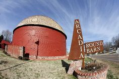 round barn arcadia, ok--Love this place!!!