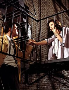Richard Beymer  Natalie Wood in West Side Story