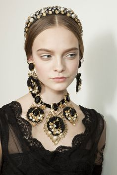 Dolce & Gabbana ~ Fall 2012 ~  Milan Fashion Week