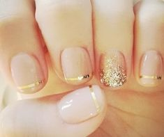 holiday nails, gold nails, wedding nails, glitter party, christmas nails