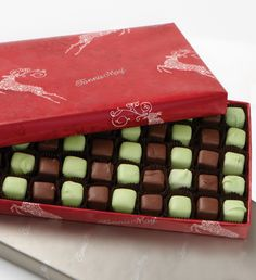 #FMChocolates Mint Meltaways in Reindeer Wrap $24.99