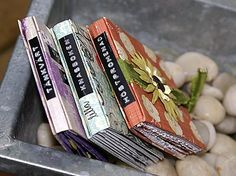 Easy mini albums tutorial. These are assembled from one piece of 30x30cm scrapbooking paper. Interesting if nothing else.