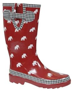 Alabama Elephant Rain boot