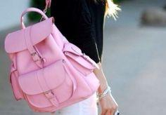 Bolsa pink para a fofura arrasar na escola!