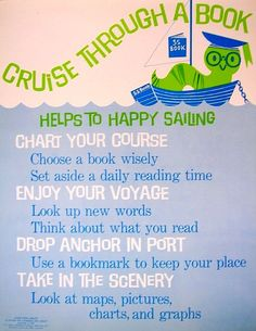 RETRO POSTER - Cruise Through a Book | Flickr - Photo Sharing!