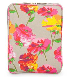 Poppy Color Burst iPad Sleeves