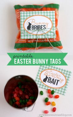 Leave out a bribe for the Bunny this year! #easter #printable www.sisterssuitcaseblog.com