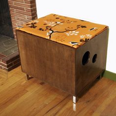 modernist take on a litterbox hider... definitely to diy, not buy! $449