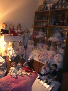 Some Of My Beautiful Susan Wakeen Doll Collection!