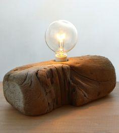 Cute driftwood lamp idea: http://www.completely-coastal.com/2014/08/shop-driftwood-lamps.html