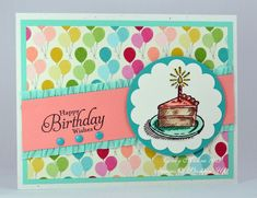 Stampin Up - Sketched Birthday
