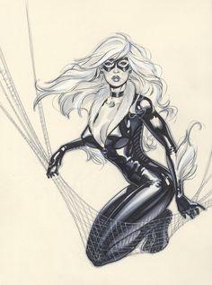 Black Cat by Michael Dooney