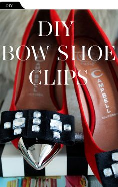 The Vault Files: DIY File: Bow Shoe Clips
