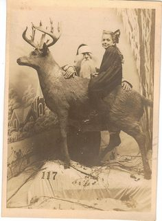 holiday, vintage christmas, creepi santa, christma photo, grandparents