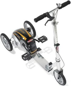 Pumgo Scooter (World's First Pedal Scooter)