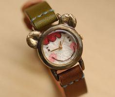 vintage watches, hands, sons, metals, linens, leather, handcraft watch, cream, vintage linen