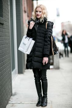 Puffer Coats on Pinterest | New York Fashion, Winter Coats and Coats
