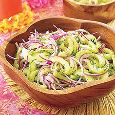 Cucumber Salad Recipe | MyRecipes.com Mobile