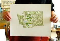 The Washington Print by Amy Ruppel.