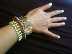 Neon arm candy arm candies