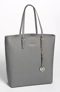 MICHAEL Michael Kors 'Jet Set - Travel' Saffiano Leather Tote, Extra Large | Nordstrom