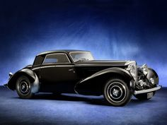 1937 Bentley 4 ¼ Litre Fixed Head Coupe by Vesters & Neirinck