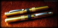 1x4 Deluxe Technician's Pocket Screwdrivers with TH and Gaucho knots