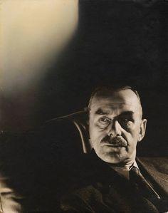 Thomas Mann, New York, 1934 -by Edward Steichen