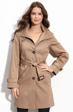 I love a classic trench coat.  I have a couple different colors and styles.  They are perfect with almost any outfit.