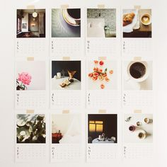 instagram calendar.