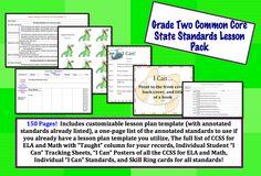 Grade Two Common Core State Standards Lesson pak